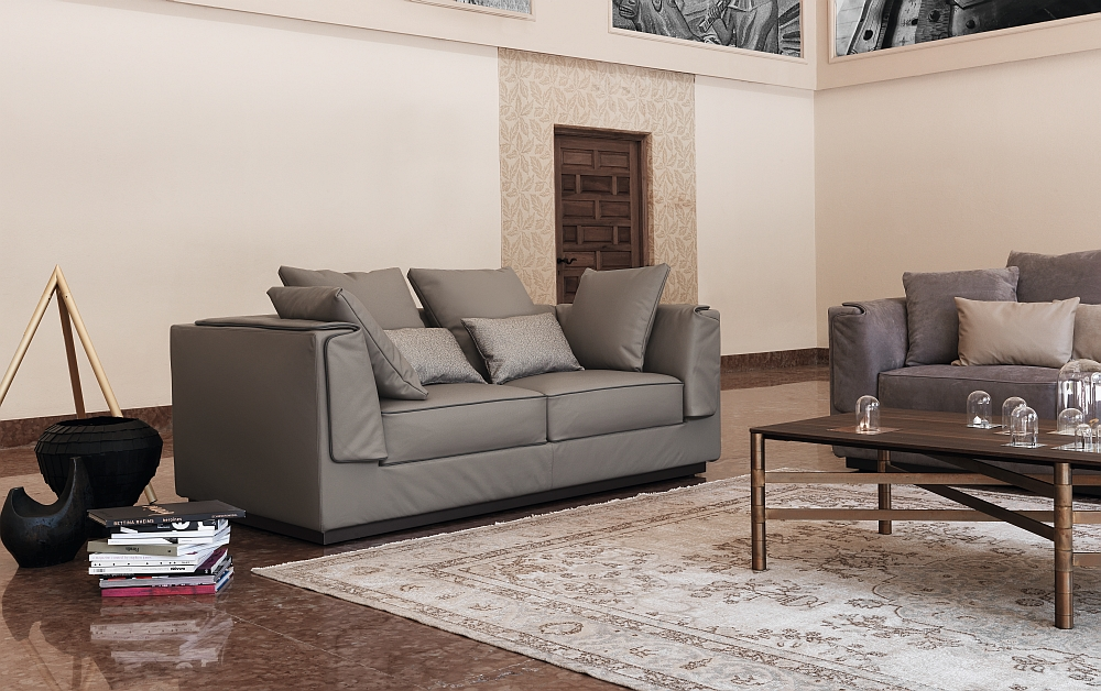 View In Gallery Stylish Italian Sofa Designs From Flou With Couch Braun
