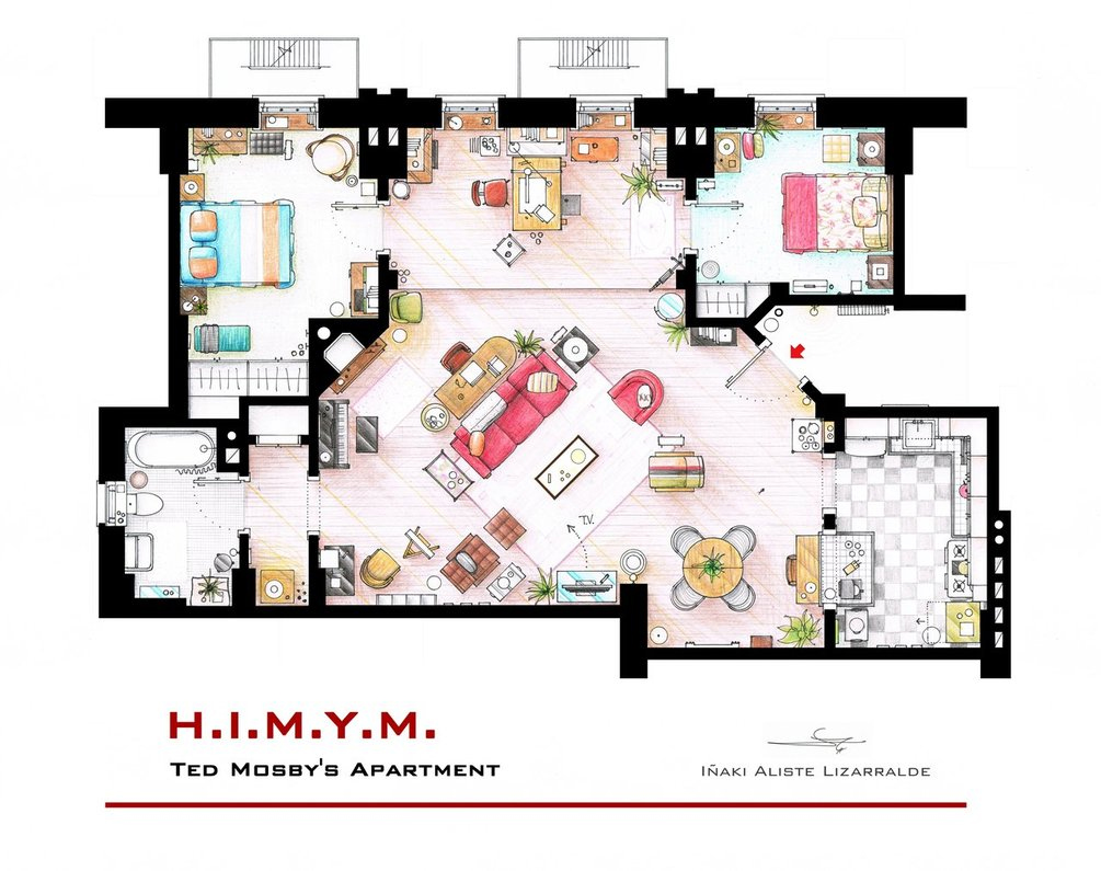 Ted's-Apartment-How-I-Met-Y