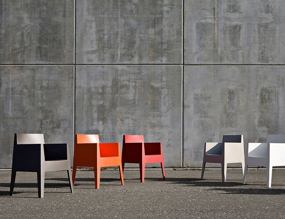 Trendy outdoor chairs from Philippe Starck