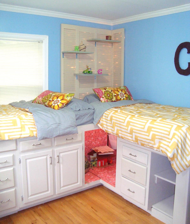 Twin-DIY-Storage-Bed - Decoist