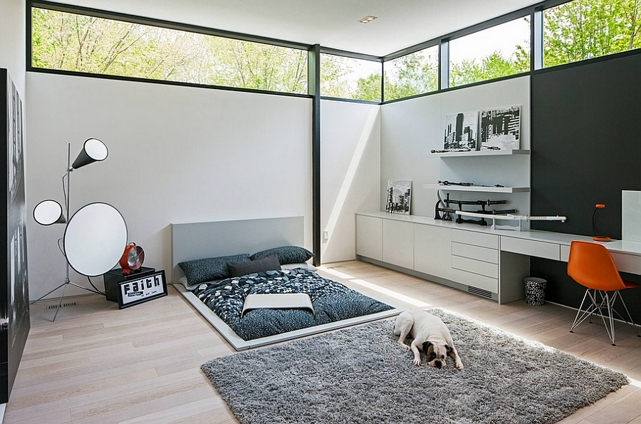 Fantastic 25 Creative Bedroom Workspaces With Style And Practicality Largest Home Design Picture Inspirations Pitcheantrous