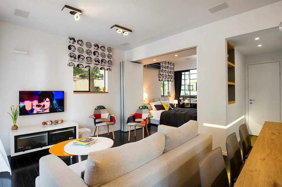 Smart Modern Renovation Transforms Small Urban Apartment Delectable Modern Apartment Interior Design Remodelling