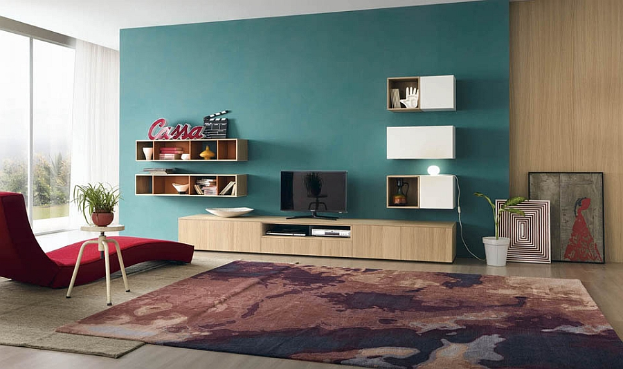 living room wall units with snazzy compositional freedom. Black Bedroom Furniture Sets. Home Design Ideas