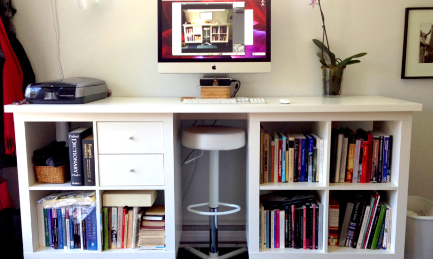 8 Inexpensive DIY Standing Desks You Can Make Yourself
