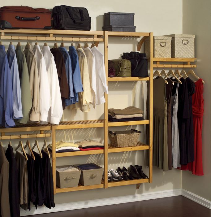 A closet organization project
