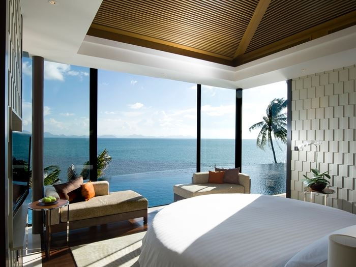 A room with a view from Hilton's Conrad Koh Samui