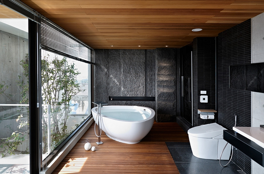 Modern Bathroom walk through shower A Touch Of Class For The Modern Bathroom Design Leicht Kchen Ag