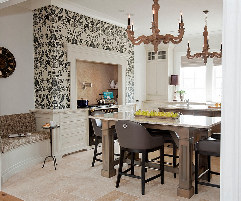 ... A Touch Of Class For The Transitional Kitchen [Design: McBurney  Junction]