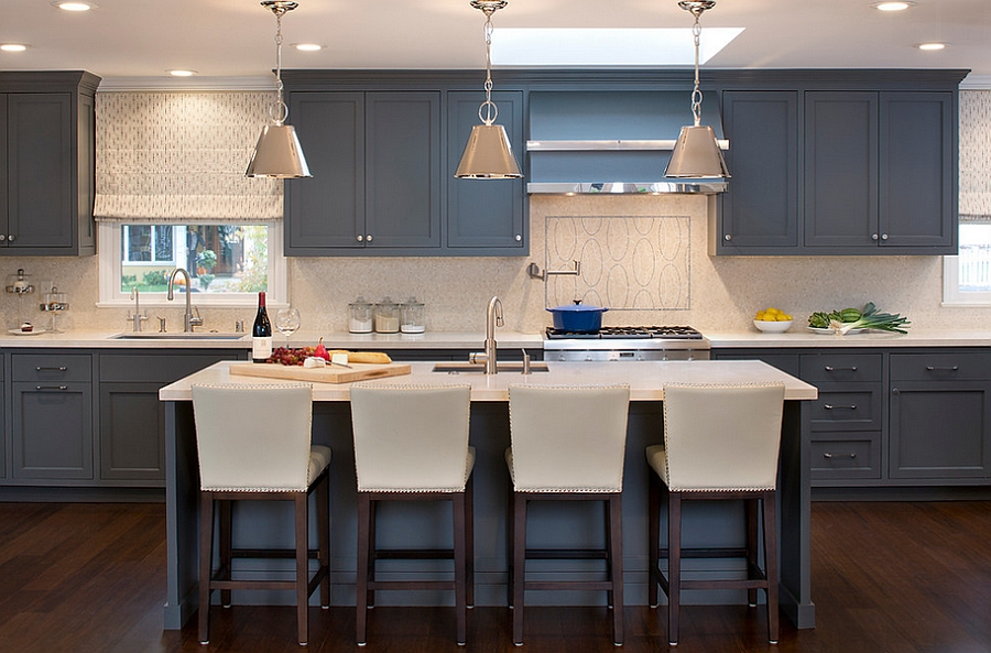 A touch of gray for the contemporary kitchen [Design: Artistic Designs for Living, Tineke Triggs]