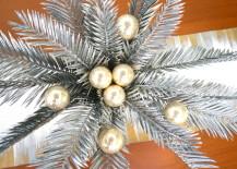 A DIY Christmas Centerpiece with Tropical Flair