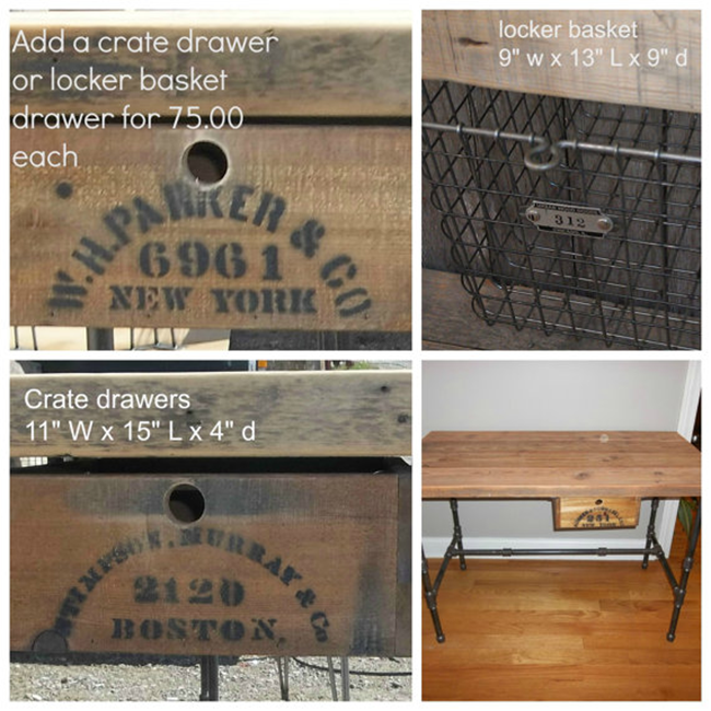 Add On Crate Drawers
