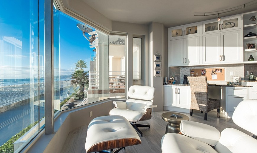 10 Cheerful Home Offices With Beautiful Beach Style