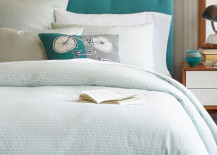 Aquamarine Headboard 217x155 8 Gorgeous Tufted Headboards That Will Make You Dream a Little Sweeter