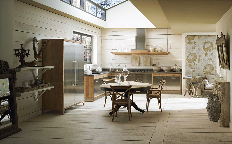 Beautiful Dechora kitchen combines the vintage and the modern Custom Made Kitchen Gives a Modern Twist to Classic Design