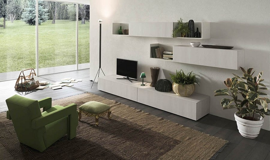 Beautiful and ergonomic living room day system from Alf