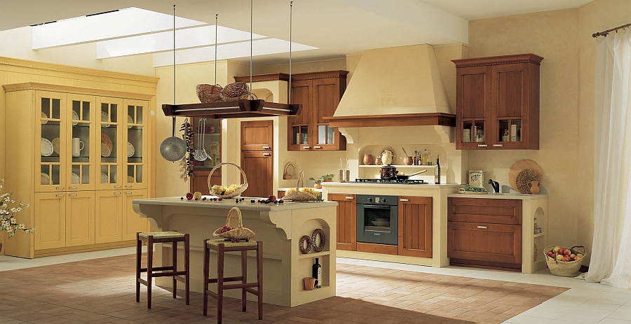 Village from arrital classic design meets modern for Beautiful traditional kitchens