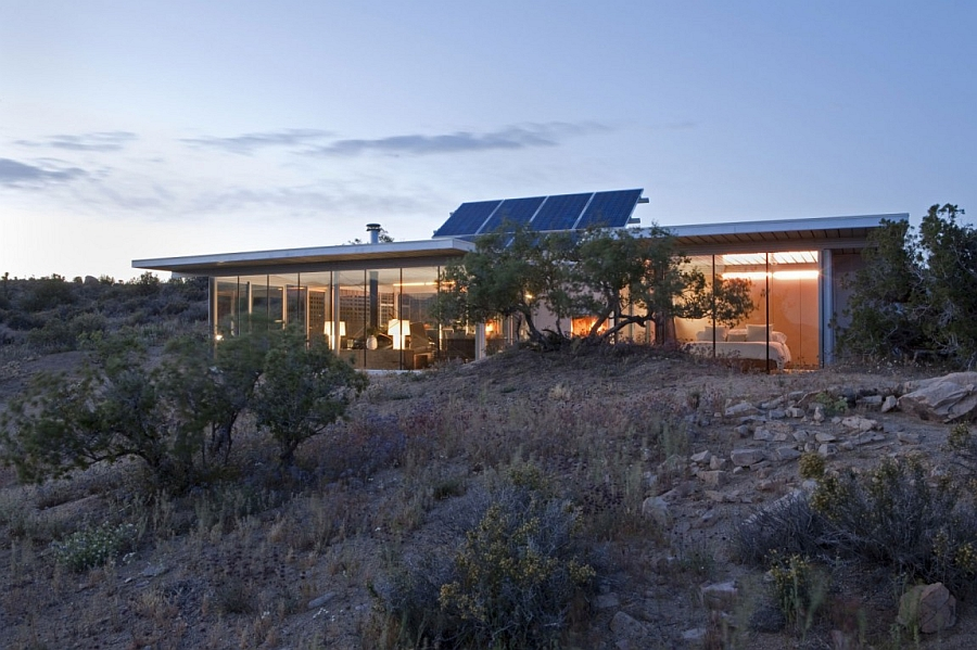 Beautifully lit home with sustainable design