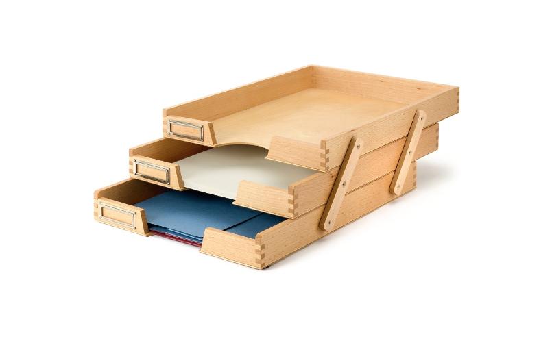 Beechwood Paper Tray