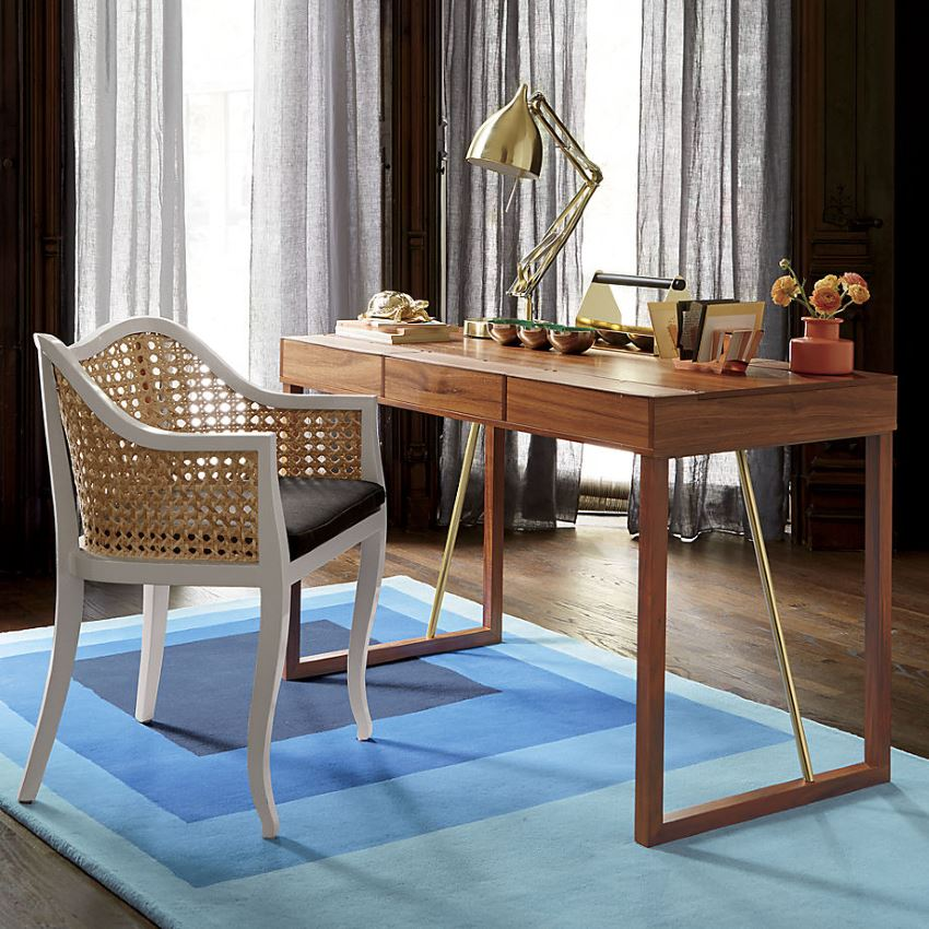 Cane side chair from CB2 Modern Decor Finds That Celebrate the Years Top Trends