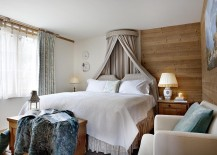 Classic French design coupled with moder comfort in the bedroom