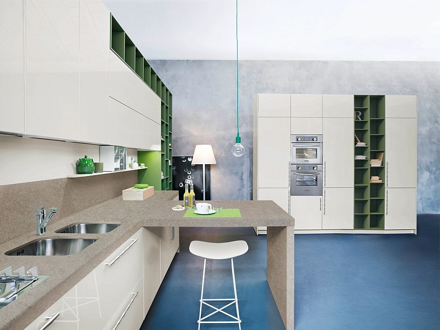 Code Kitchen offers a combination of contrasting textures
