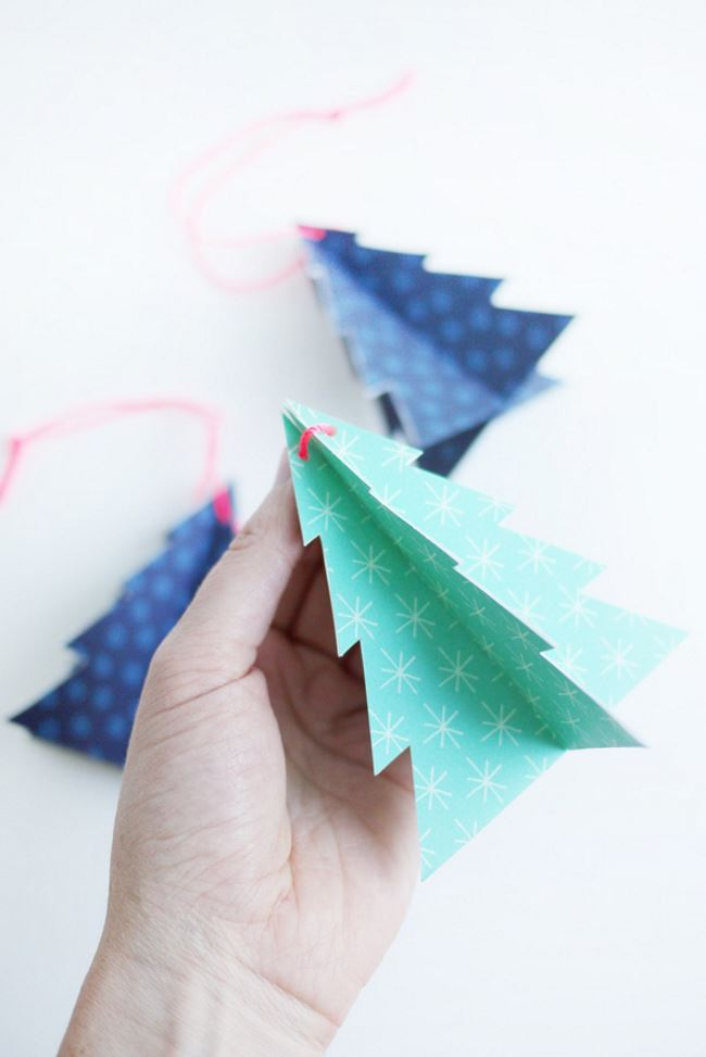 Colorful DIY printable ornaments