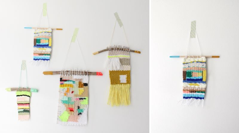 Colorful wall hangings from Baba Souk