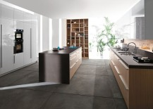 Create a grand kitchen that seems like an extension of the living space with Code