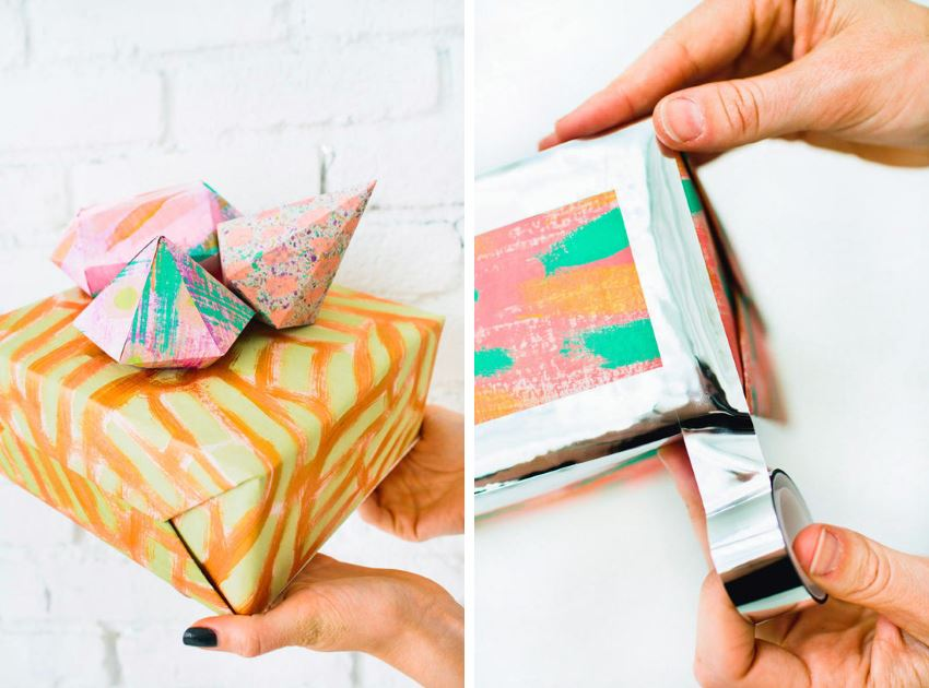 Creative gift wrapping ideas from Design Love Fest