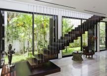 Cultural icons and diverser textures enliven the lavish villa