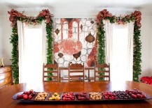 Custom holiday decor and wall mural for those who love to innovate!