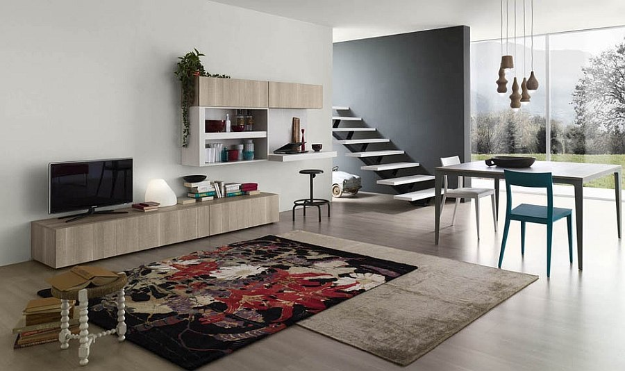 View In Gallery Customizable Living Room Wall Units With An Eco Friendly  Touch
