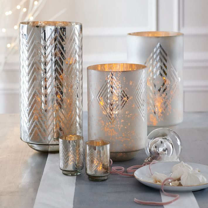 Deco-style hurricanes from West Elm