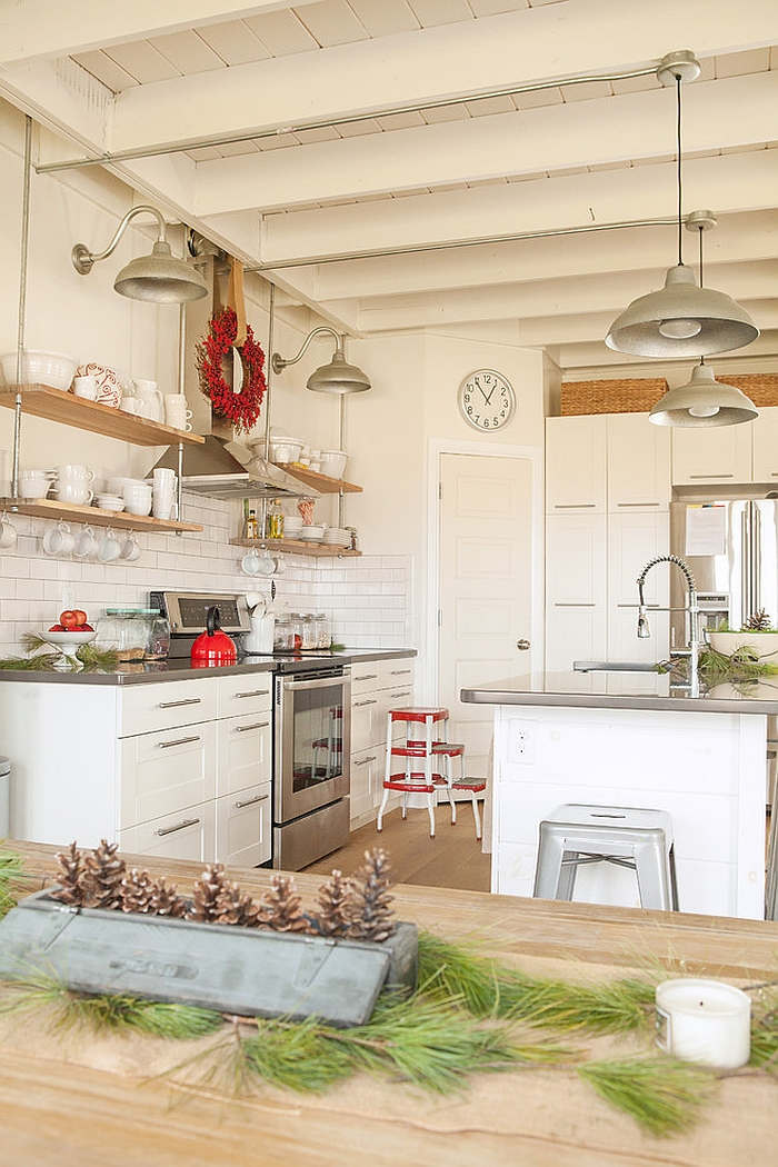 Dress up your kitchen this holiday season [From: Julie Ranee Photography]