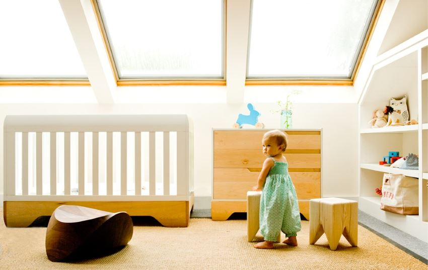 Echo Crib from Kalon Studios Kalon Studios Eco Friendly Designs for the Modern Nursery