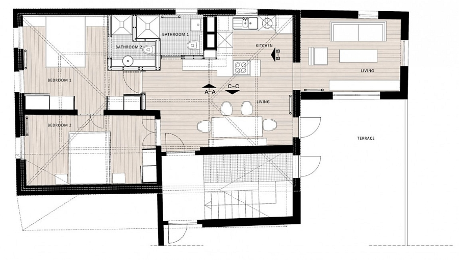 Floor-plan-of-the-renovated-apartment-in-Turkey Wild Turkey House Plan on black-capped chickadee house, bobcat house, eastern bluebird house, barred owl house, wild horse house, muskrat house, downy woodpecker house, red-bellied woodpecker house, ostrich house, tree swallow house, raccoon house, wood duck house, ruff house, eastern screech owl house, rabbit house, barn swallow house, goose house, groundhog house, mountain lion house, chicken house,