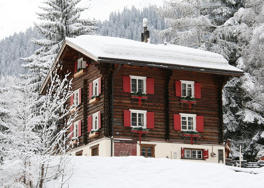 Gorgeous Chalet Bear is one of the best winter retreats in Europe Vacationing in the Swiss Alps: The Exclusive Chalet Bear
