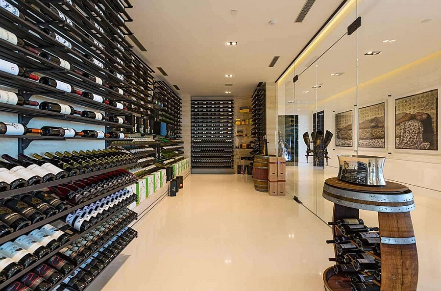 Grand Wine cellar steals the show