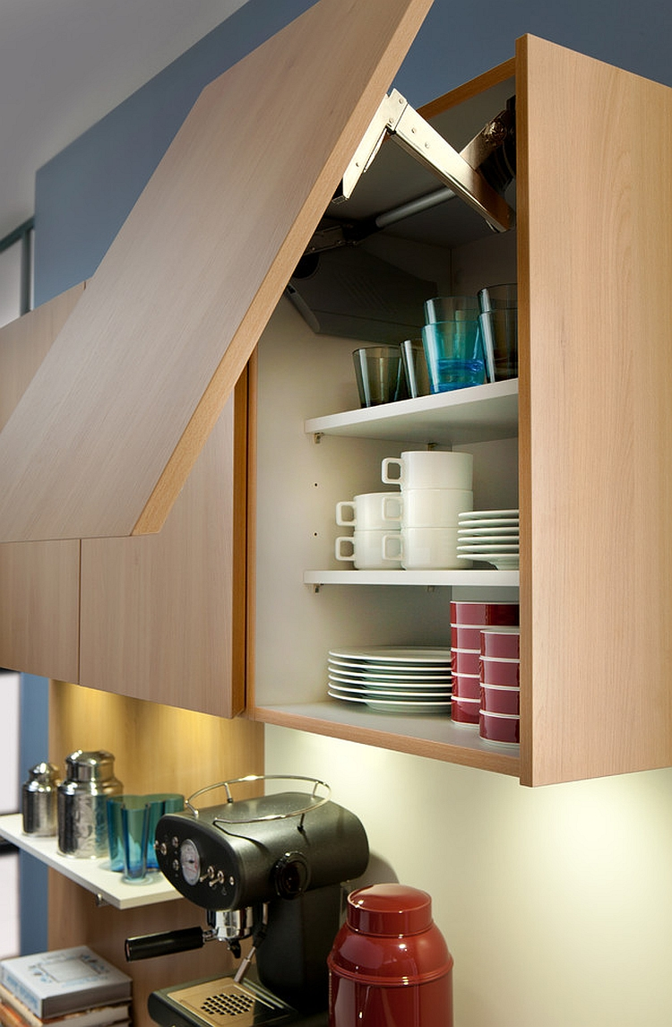 Handleless cabinetry option for the minimal modern kitchen