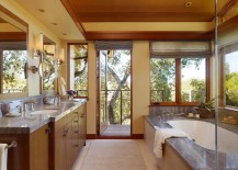 10 Modern Bathroom Spaces with Cozy Features
