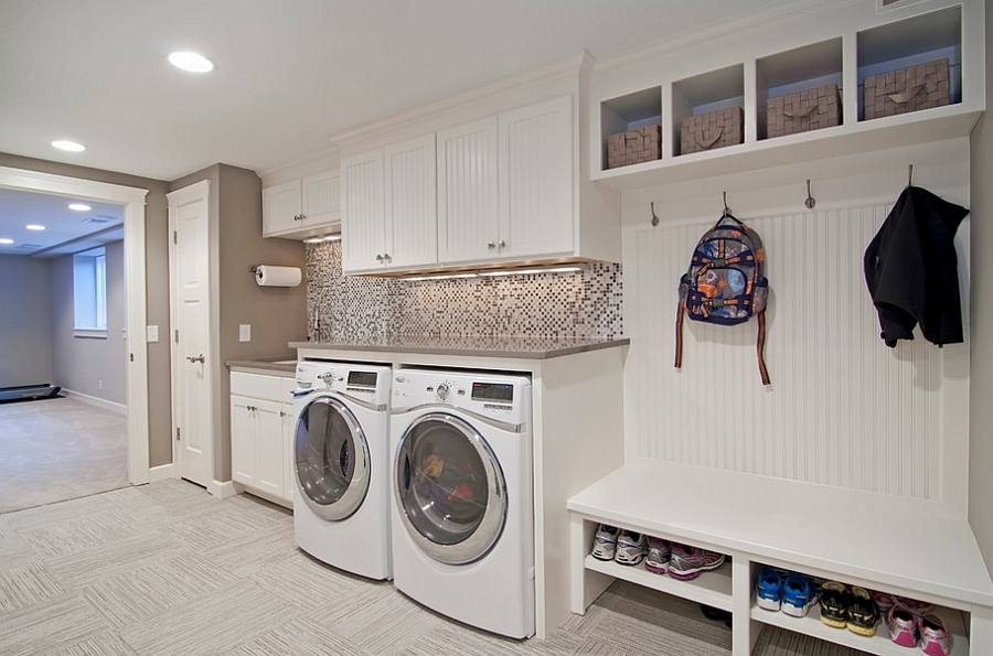 ... Laundry And Mudroom Combinations Are Easy To Pull Off [Design: College  City Design Build Part 66