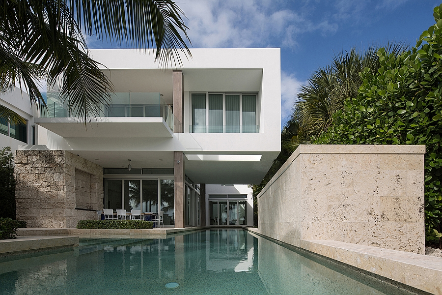 Dramatic Miami Residence Offers Luxury Draped In Coastal