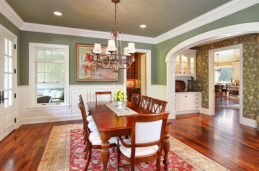 Merveilleux 12 Red And Green Dining Rooms For The Holidays And Beyond