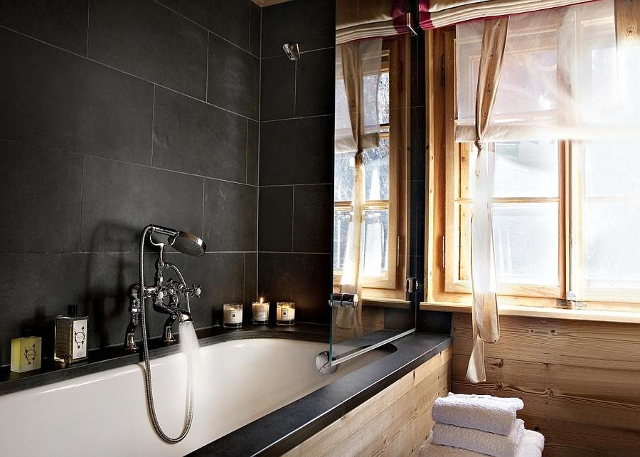 Luxurious spa-like bath at home