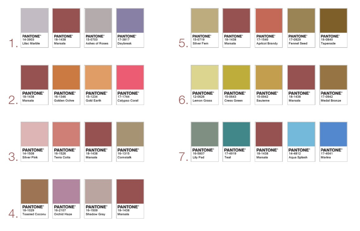 2015 pantone color of the year how to use marsala in your home. Black Bedroom Furniture Sets. Home Design Ideas