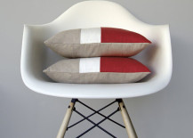 Marsala Colorblock Pillow