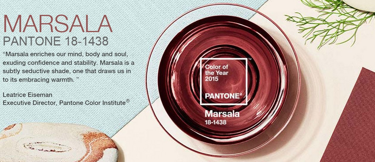 Marsala Pantone Color of the Year
