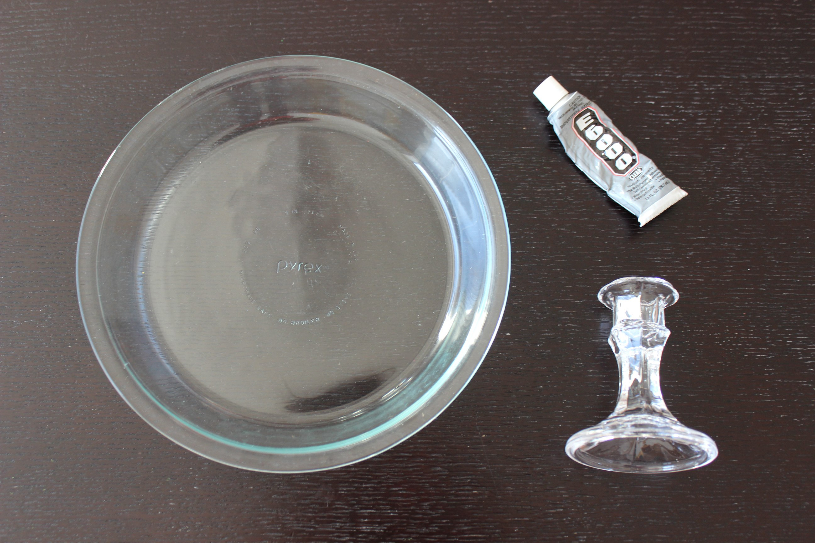 Materials to Make DIY Cake Stand