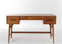 Mid Century Desk Made of FSC Certified Wood