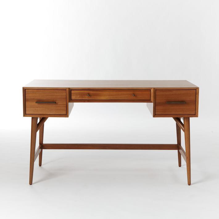 Mid Century Desk Made of FSC Certified Wood